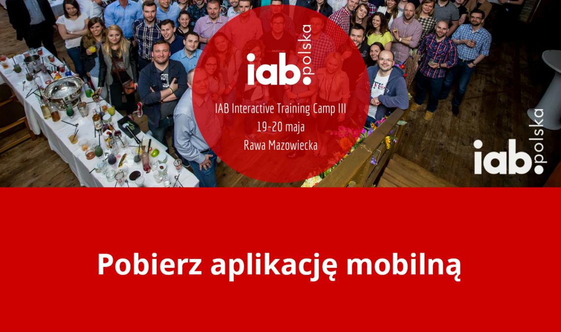 Blog - MKonferencja na IAB Interactive Training Camp 2016